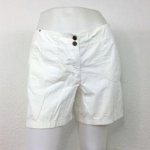 Style & Co White Shorts Women Size 10